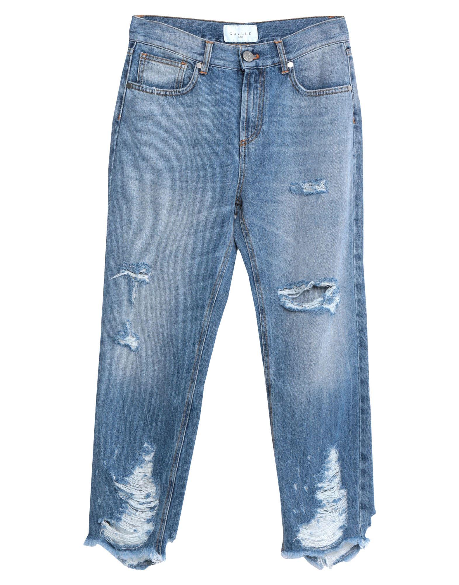 GAëLLE Paris Denim pants - Item 42823278