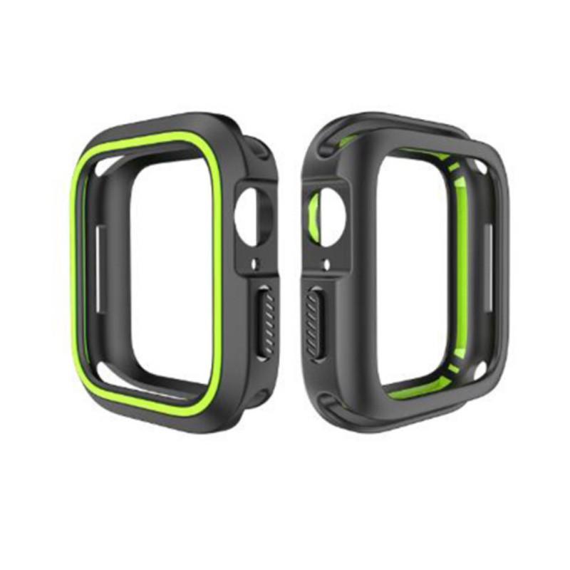 QinD Apple Watch (40mm) 雙色矽膠保護套 廠商直送 現貨