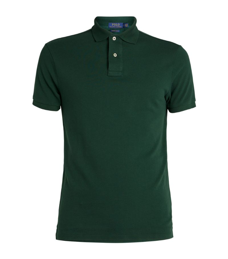 Ralph Lauren Custom Fit Cotton Mesh Polo Shirt