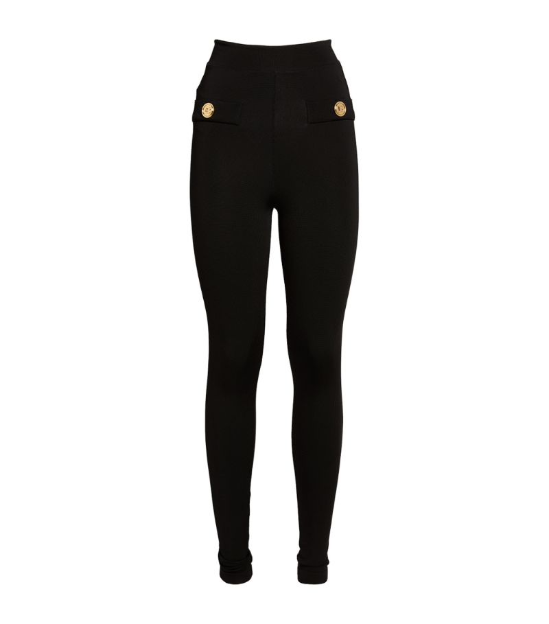 Balmain Zip-Up Leggings