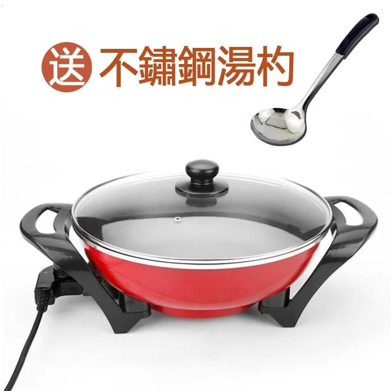 【宅配免運】KINYO 4公升超大容量電火鍋 BP-070 5段火力 不沾塗層 煮火鍋 除夕圍爐