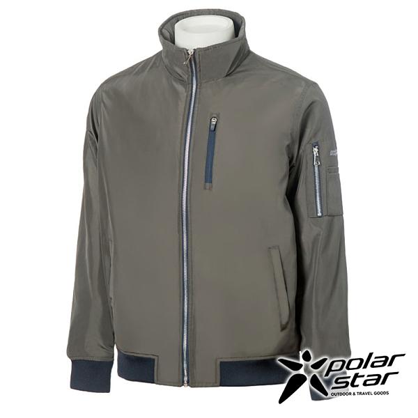 【PolarStar】中性 防風保暖飛行外套『軍綠』P20217 休閒 戶外 登山 吸濕排汗 冬季 保暖 禦寒