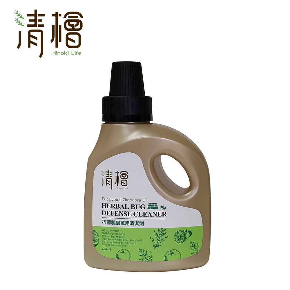 【清檜Hinoki Life】抗菌驅蟲萬用清潔劑600ml
