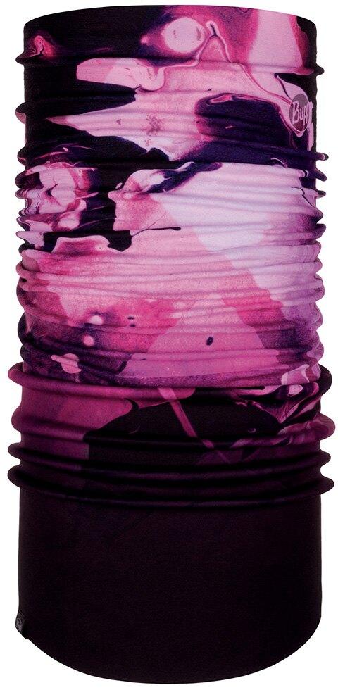 【【蘋果戶外】】BUFF BF121524 西班牙 NEW 魔術頭巾 Windproof【二段式】保暖頭巾 紫紅渲染 PLUS 圍脖 防風