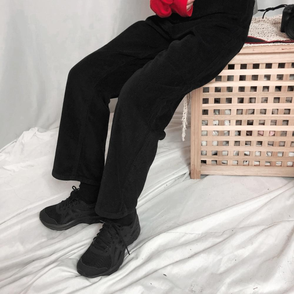 韓國空運 - 5937 pastel straight corduroy pants 長褲