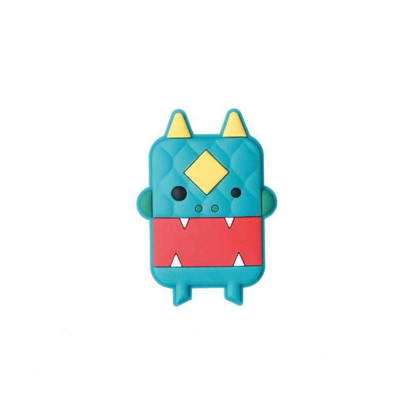 【Dotfuns】【Figurine! 】nien monster 年獸磁鐵/綠