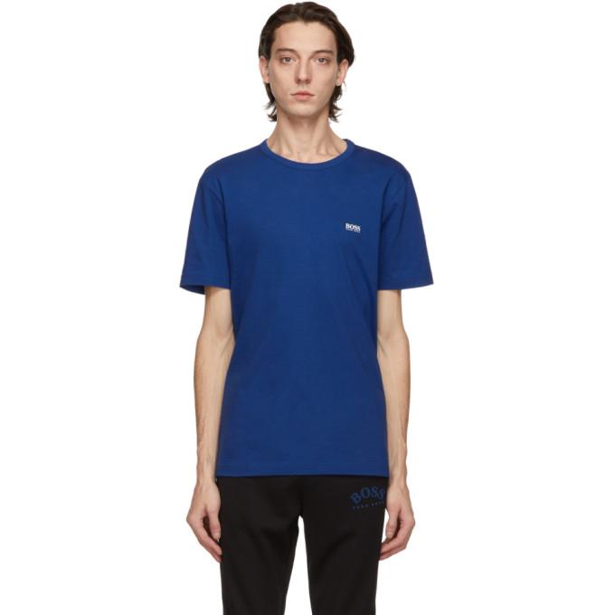 BOSS 蓝色徽标 T 恤