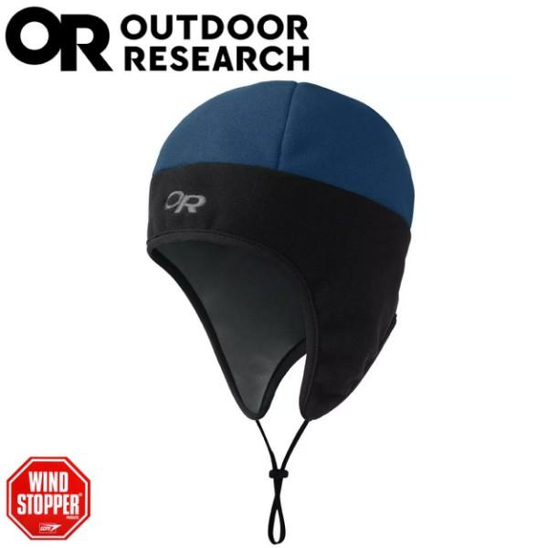 【Outdoor Research 美國 PERUVIAN 防風保暖帽《藍/黑》】243546/毛帽/刷毛帽//悠遊山水