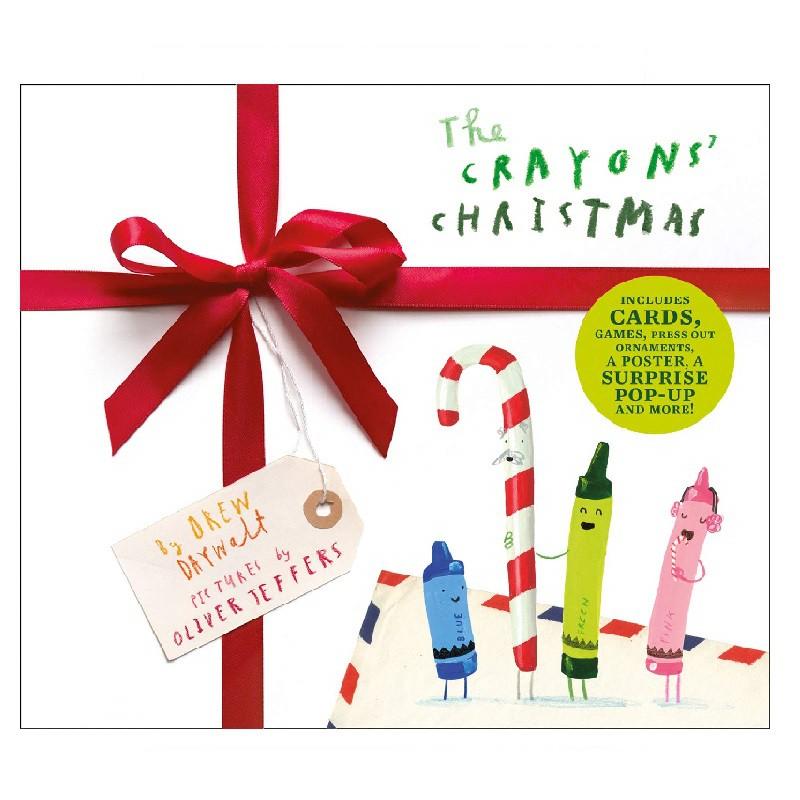Crayons' Christmas 聖誕節繪本 (精裝)
