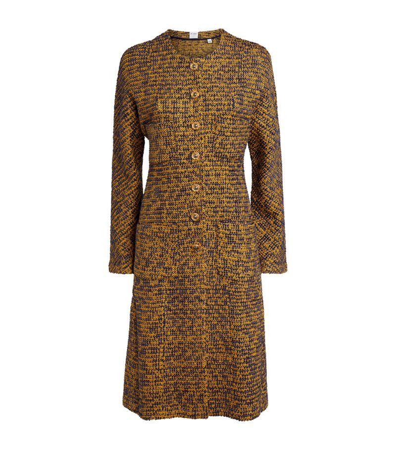 St. John Bicolour Tweed Coat