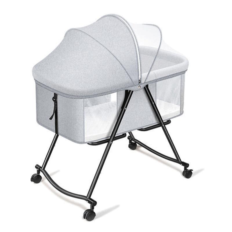 嬰兒床 可移動 便攜式 寶寶床 多功能 可摺疊 bb床 新生兒小床 搖籃床