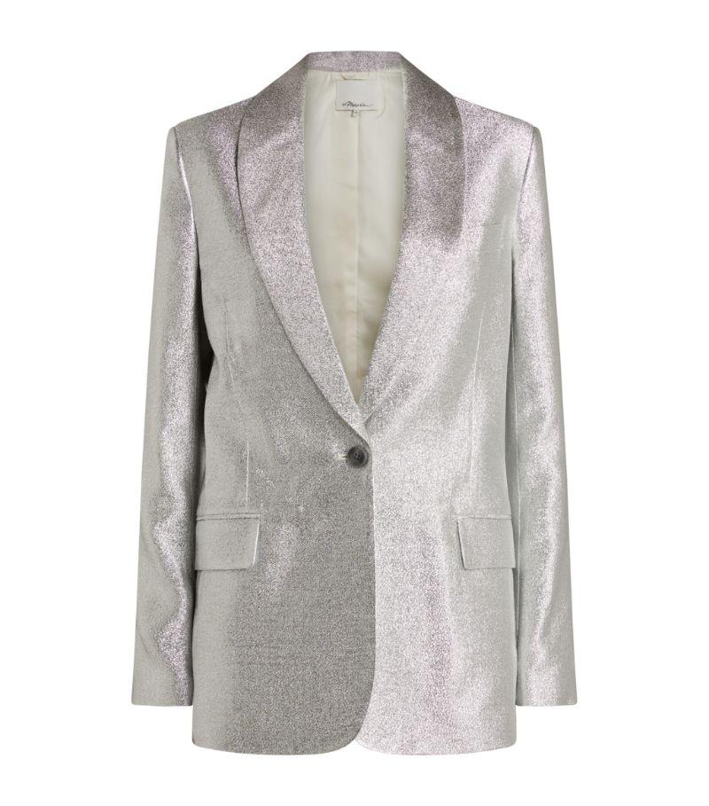 3.1 Phillip Lim Metallic Single-Breasted Blazer
