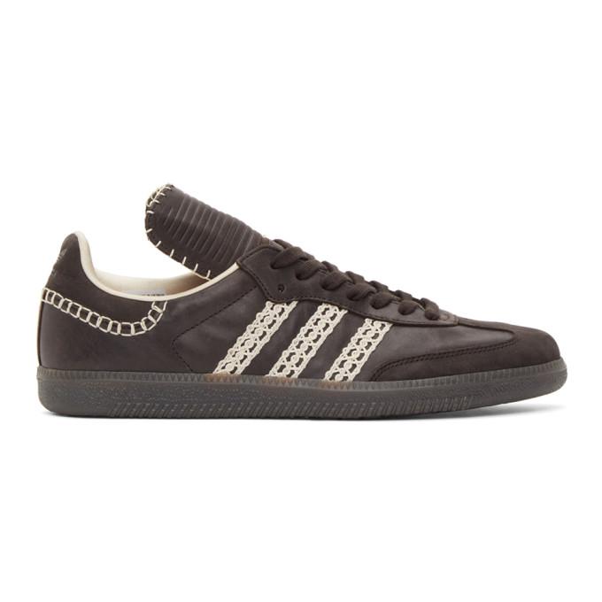 Wales Bonner 黑色 adidas Originals 联名 Samba 运动鞋