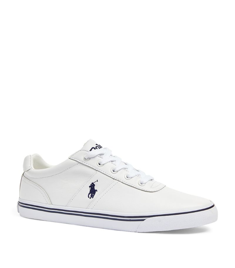 Ralph Lauren Leather Hanford Sneakers