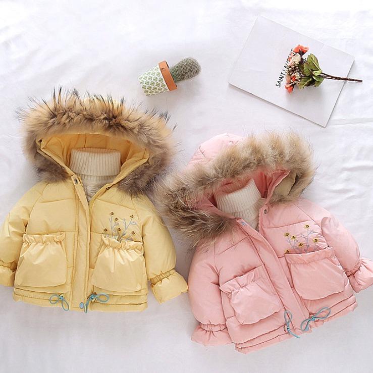 兒童加厚保暖連帽長袖外套 棉外套 秋冬外套 小童外套【蘋果小舖】(RE)2011 A7