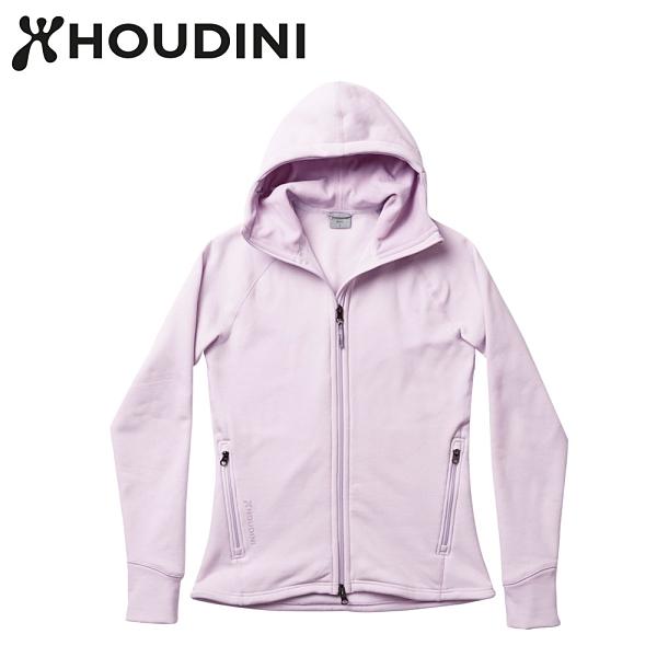 瑞典【Houdini】W`s Power Houdini 女款Power Stretch® Pro™保暖外套 奶昔粉紅