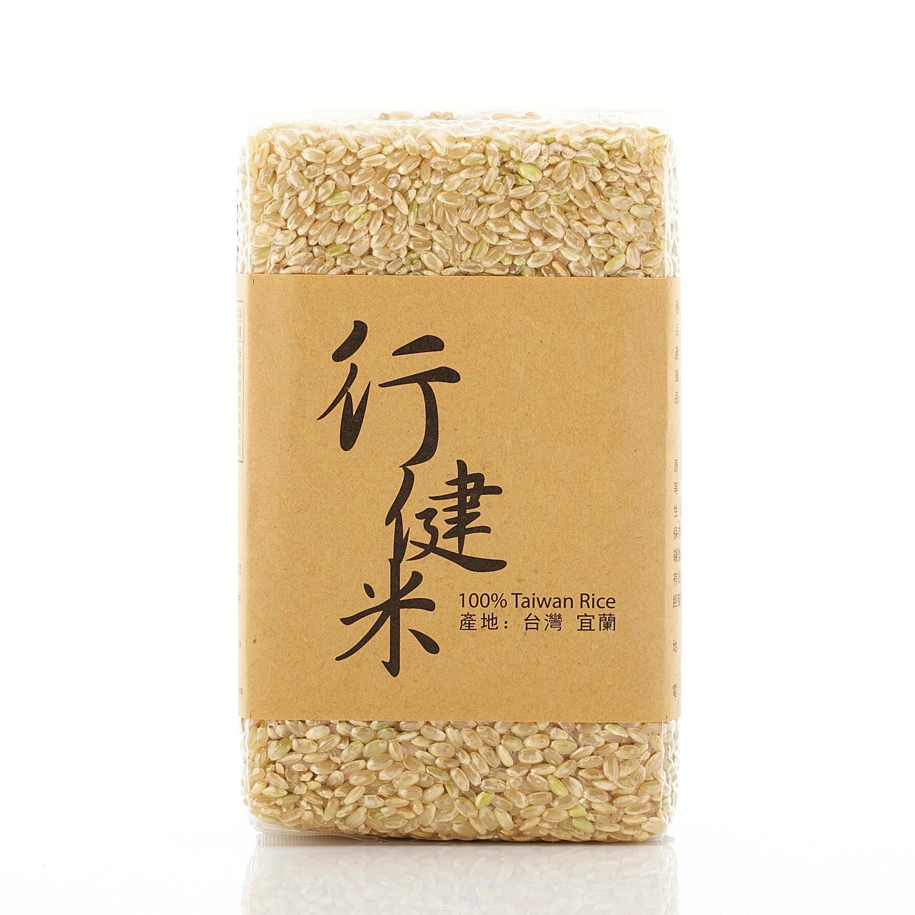 行健三色米禮盒組 (145有機白米、145有機糙米、有機黑糯米)