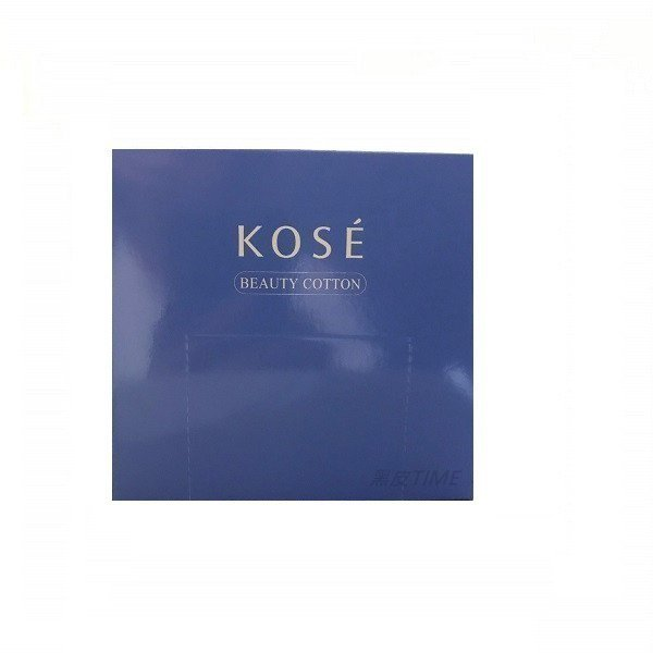 KOSE 高絲 高品質化粧棉 50枚入 黑皮TIME 16814