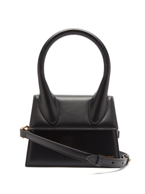 Jacquemus - Chiquito Leather Cross-body Bag - Womens - Black