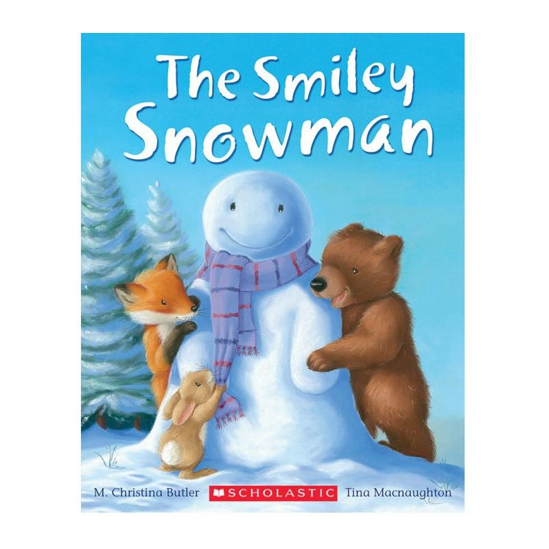 Smiley Snowman聖誕節繪本(平裝)