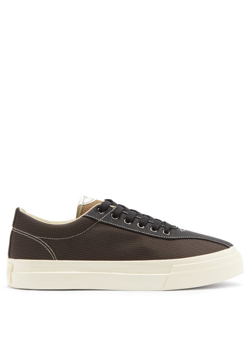 Stepney Workers Club - Dellow Checked Trainers - Mens - Black Multi