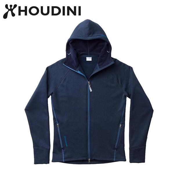 瑞典【Houdini】M`s Power Houdini 男款Power Stretch® Pro™保暖外套 藍色幻想
