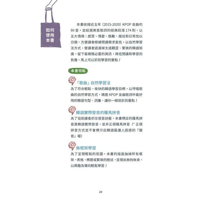 聽KPOP學韓語80首流行歌曲 200句常用韓語