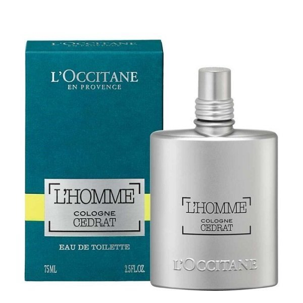L'OCCITANE 歐舒丹 枸櫞海洋淡香水 75ML 黑皮TIME 54893