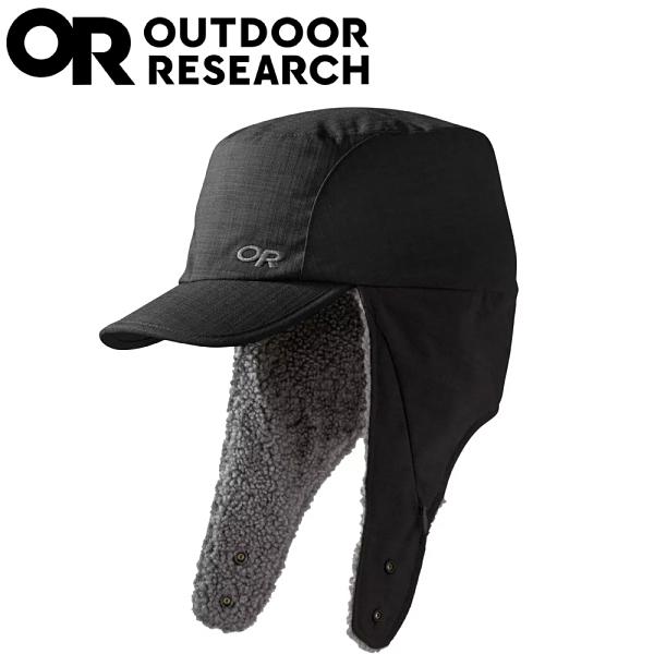 【Outdoor Research 美國 WHITEFISH HAT透氣保暖護耳帽《黑》】254041/保暖帽/休閒帽