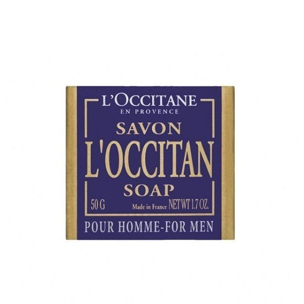 L'OCCITANE 歐舒丹 沐浴皂 50g 枸櫞 紳士 黑皮TIME