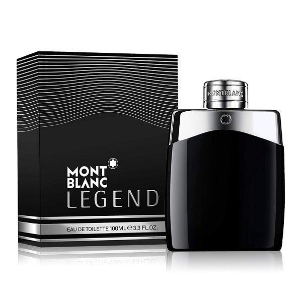 MONT BLANC 萬寶龍 傳奇經典男性淡香水 100ML 黑皮TIME 32681