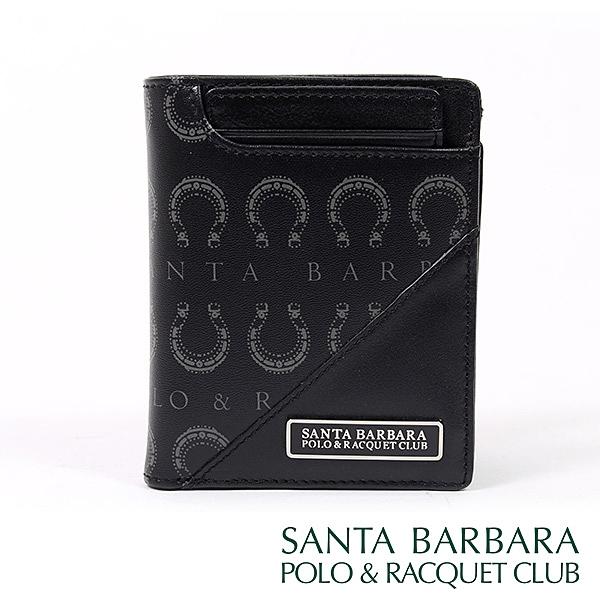 【南紡購物中心】SANTA BARBARA POLO & RACQUET CLUB - 經典馬蹄簡易式男夾