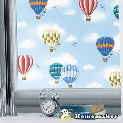 Decoin_熱氣球彩繪窗貼 (HN-GS10A)