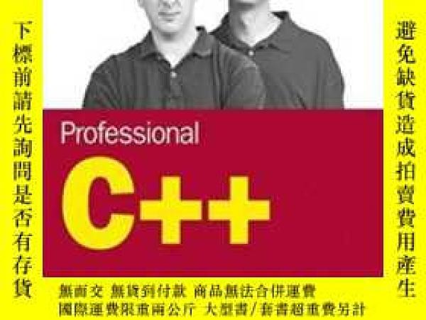 二手書博民逛書店Professional罕見C++ (programmer To Programmer)Y255562 Nic