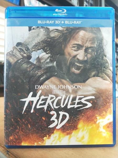 挖寶二手片-0522--正版藍光BD【海克力士 3D+2D雙碟版】熱門電影(直購價)