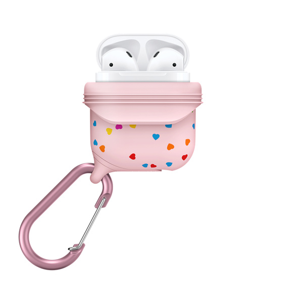Catalyst Waterproof Case for AirPods - Special Edition Pink with Hearts