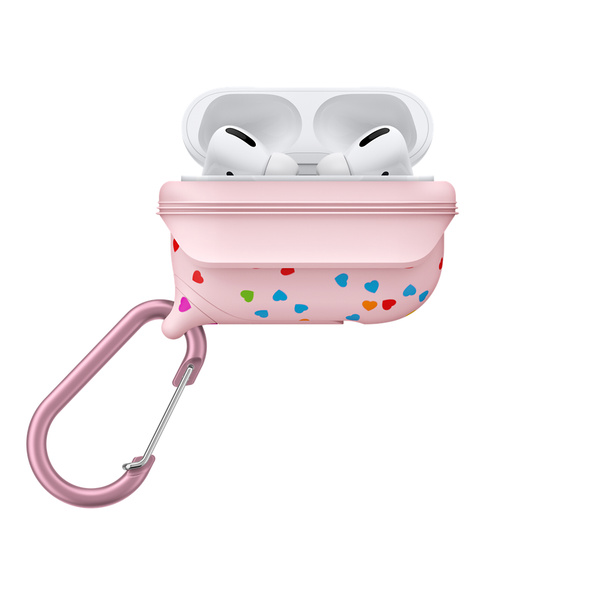 Catalyst Waterproof Case for AirPods Pro - Special Edition Pink With Hearts
