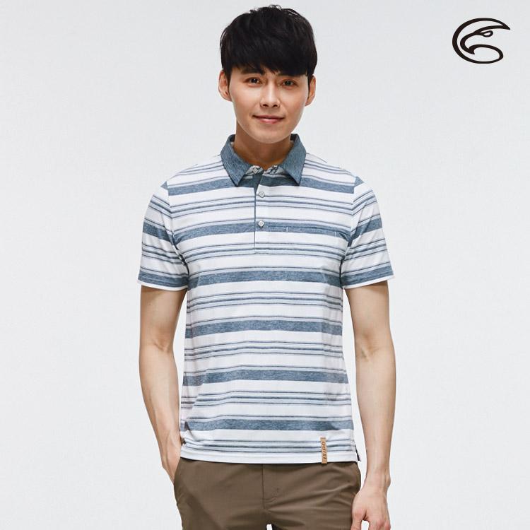ADISI 男短袖COOLMAX沁涼條紋休閒POLO衫 AL2011050 (M-2XL) / 城市綠洲 (涼感、透氣、輕量、吸濕排汗)