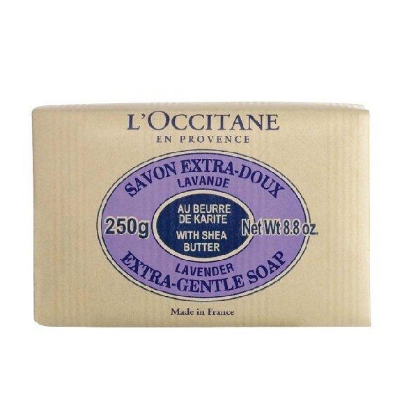 L'OCCITANE 歐舒丹 乳油木皂 250g 牛奶 薰衣草 馬鞭草 黑皮TIME