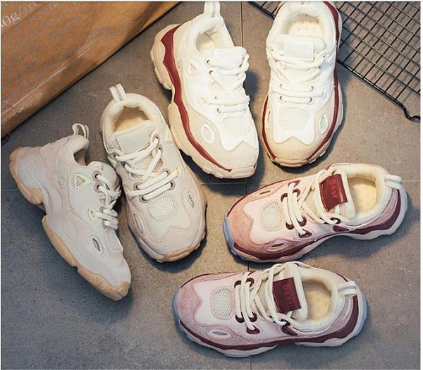 2021秋季新款兒童運動鞋男童鞋子飛織透氣跑步鞋女童鞋 貝芙莉