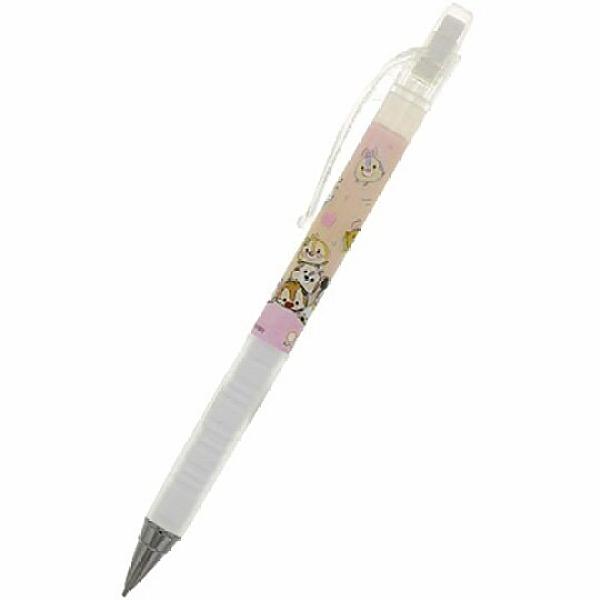 小禮堂 迪士尼 TsumTsum 日製 極細自動鉛筆 自動筆 0.3mm pilot airblanc (粉 馬卡龍) 4901770-63458