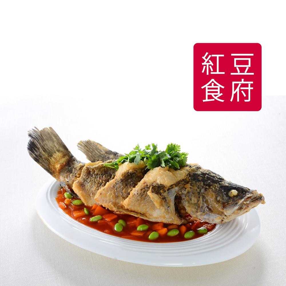 預購《紅豆食府SH》糖醋鮮魚(950g/盒)