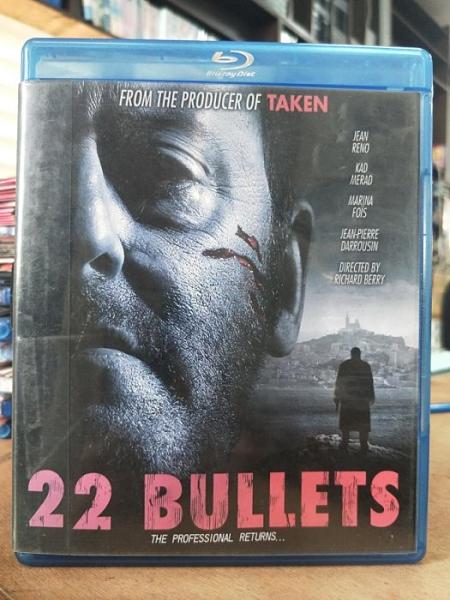 挖寶二手片-0537-正版藍光BD【索命22顆子彈】熱門電影(直購價)