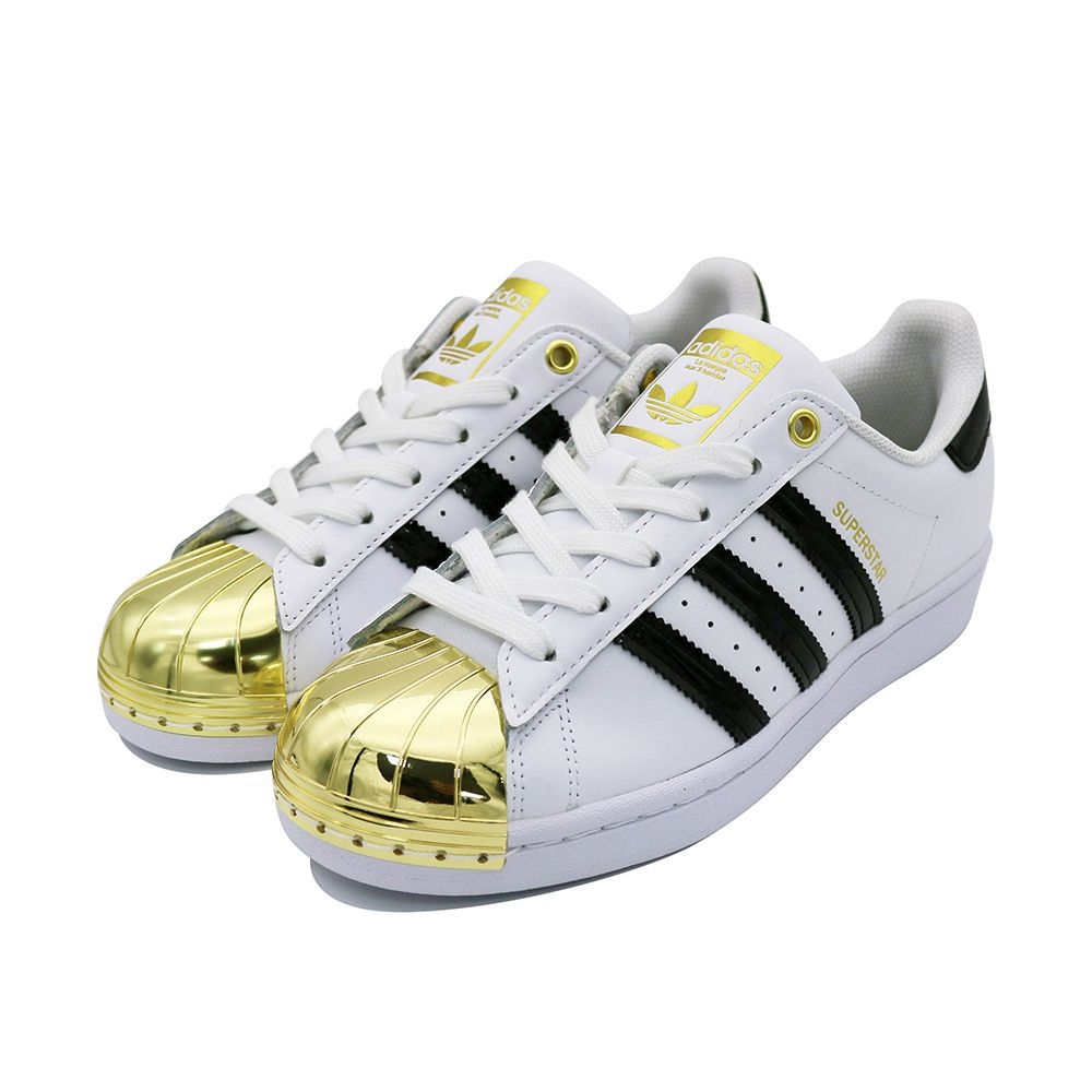 ADIDAS SUPERSTAR METAL TOE W 女 休閒鞋 白金