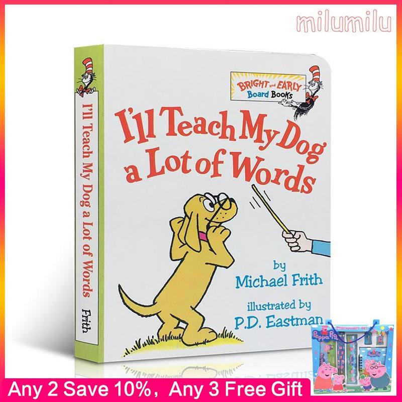 蘇斯博士, 我會教我的狗很多字板書的兒童活動書