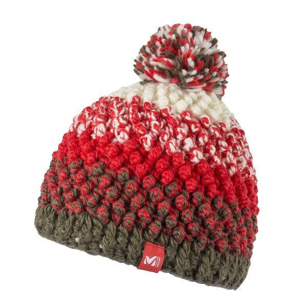法國[MILLET] LD SUNNY BEANIE / 時尚小絨球滑雪毛帽 / 美麗諾羊毛《長毛象休閒旅遊名店》
