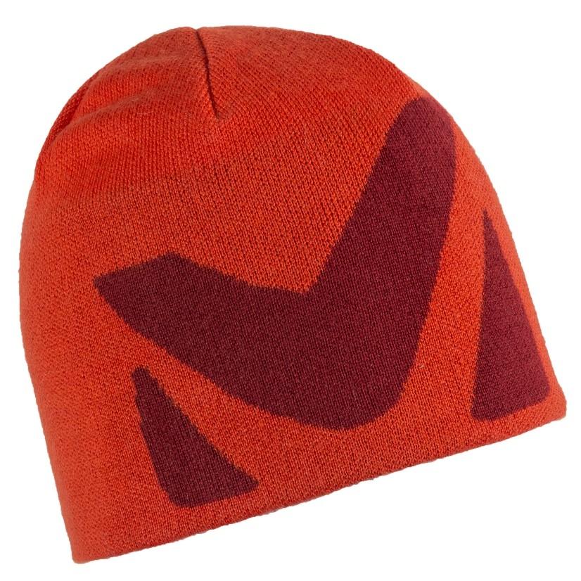 法國[MILLET] LOGO BEANIE / Millet LOGO天然保暖帽《長毛象休閒旅遊名店》