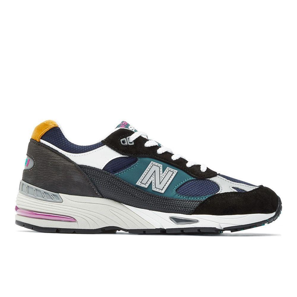 New Balance 991系列 男 跑步鞋 黑藍