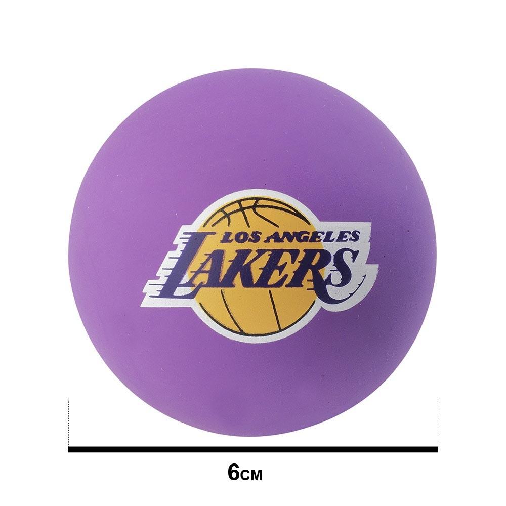 SPALDING 斯伯丁 NBA 超彈力小球 湖人隊