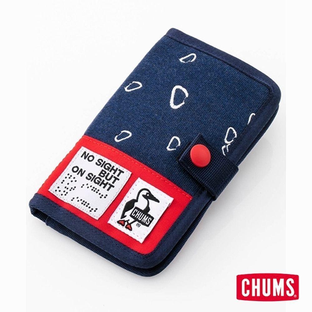 CHUMS 18 Monkey Magic 卡夾 深藍男女卡夾證件帶零錢包 卡夾